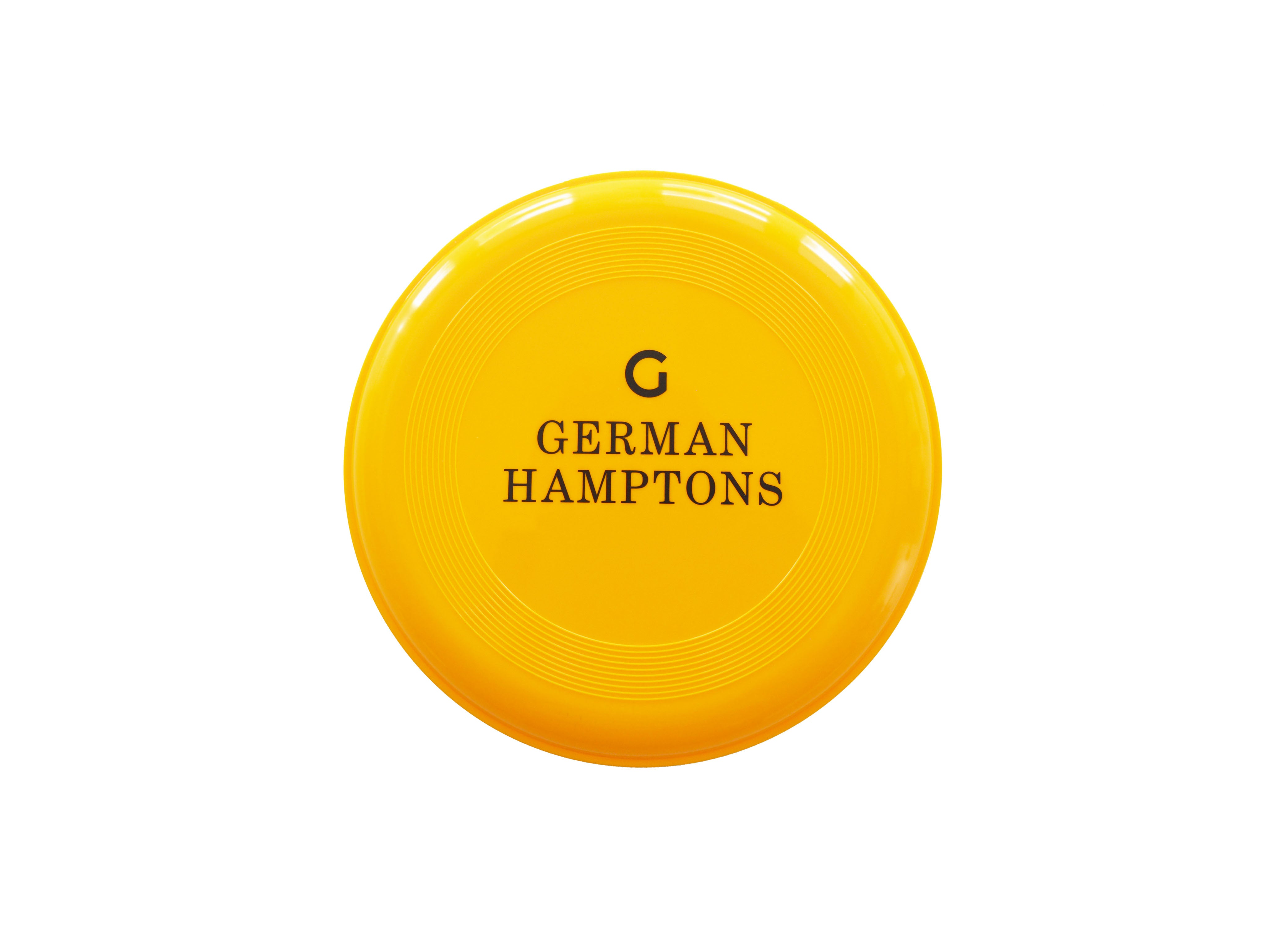 German Hamptons Frisbee