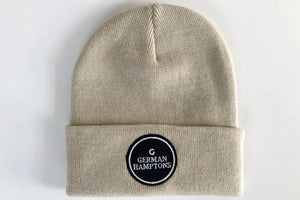 Iconic Logo Patch Beanie