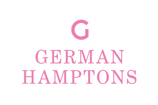 pink car sticker german hamptons