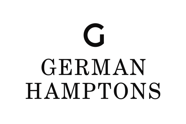 black car sticker german hamptons