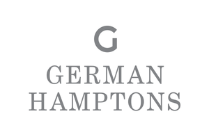 silver car sticker german hamptons
