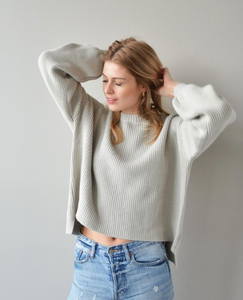 Oversized German Hamptons Strickpullover