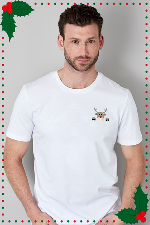 Christmas Edition: Limitiertes T-Shirt Happy Reindeer