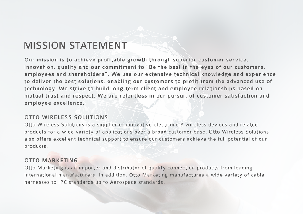 Otto Wireless Solutions Mission Statement
