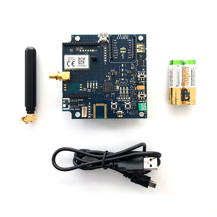 33000159 • LoraWan development kit for Mipot LoraWan transceiver 32001353