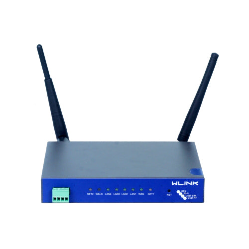 WL-R520H4-D • W-Link 3G Dual SIM WiFi Router with 4 x LAN and remote management