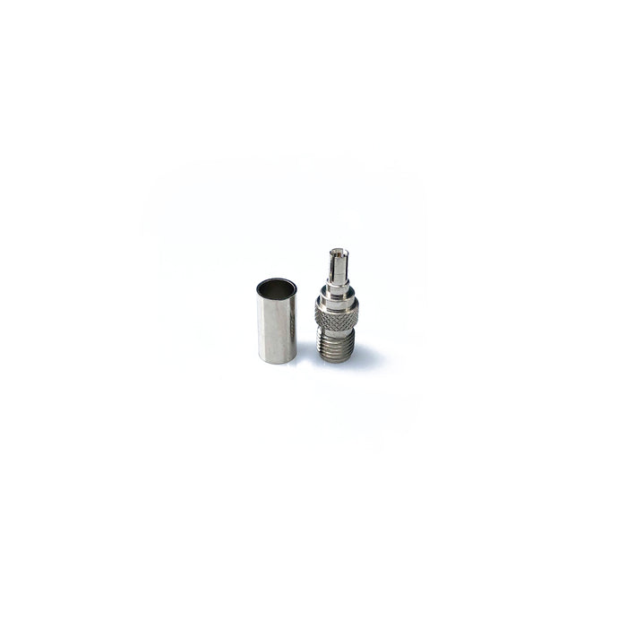CRC9-75-07-TGN • CRC9 plug to SMA female antenna adaptor