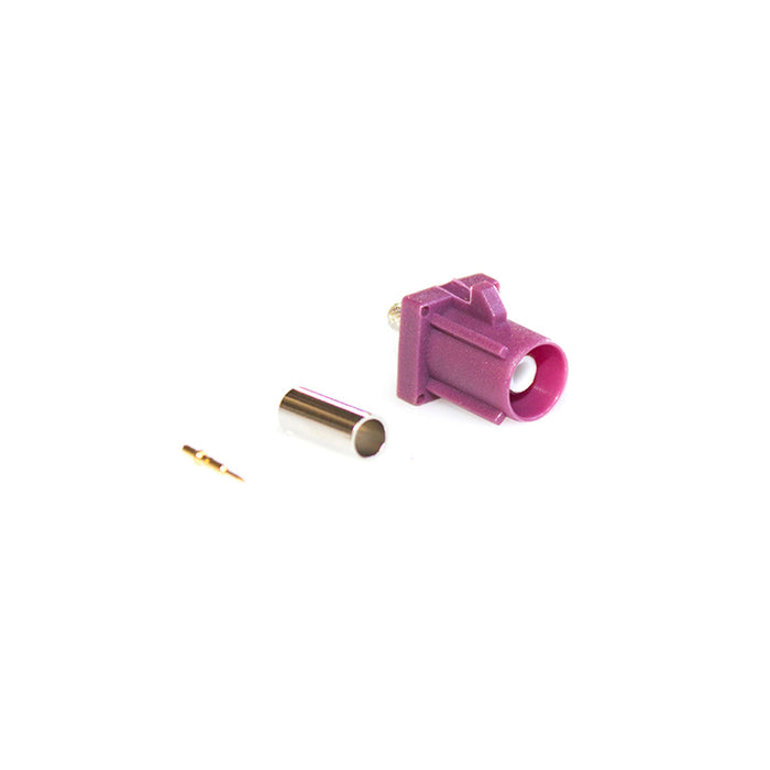 FAKRA-DM02 • FAKRA GSM socket (Purple)