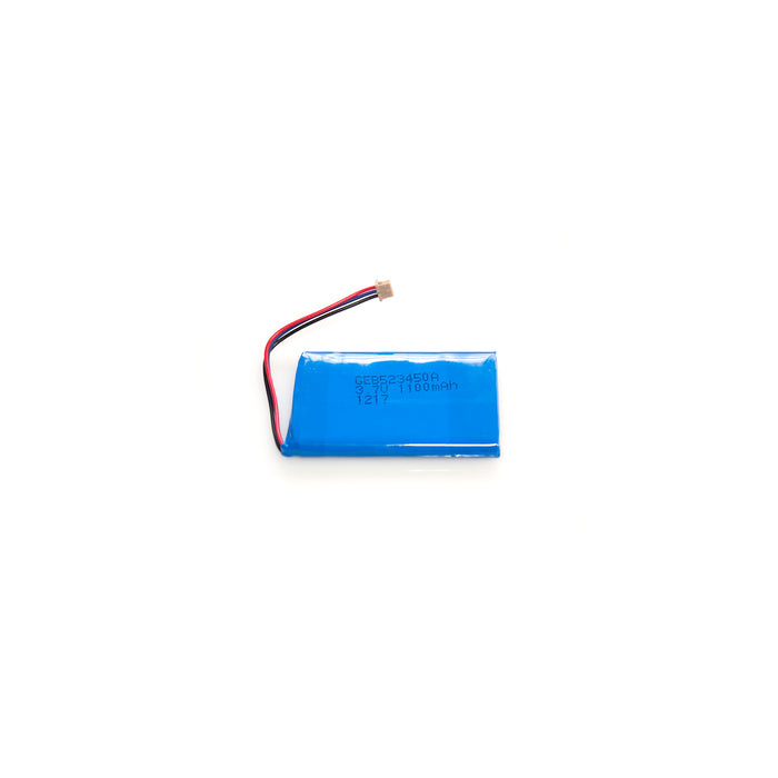 Lithium Ion Polymer rechargeable battery 1050mAh 3.7V - GEB523450A_DF13