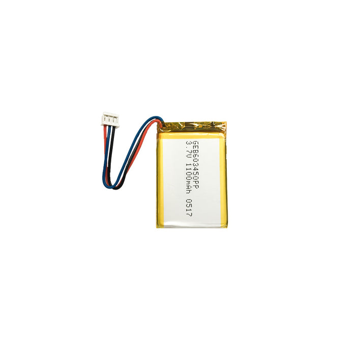 GEB603450P • Lithium Ion Polymer rechargeable battery 1100mAh 3.7V