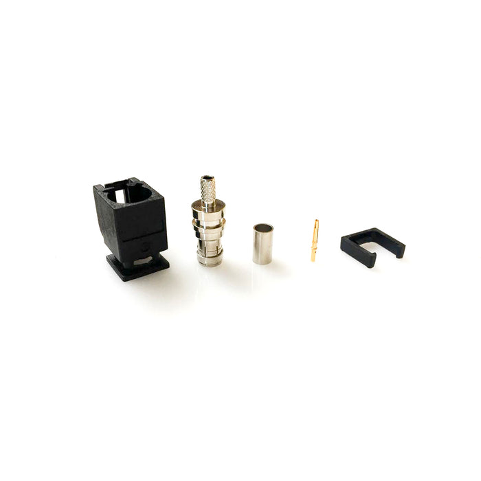 KA100-5B1NNT0 • FAKRA Plug Crimp RG174 (black)