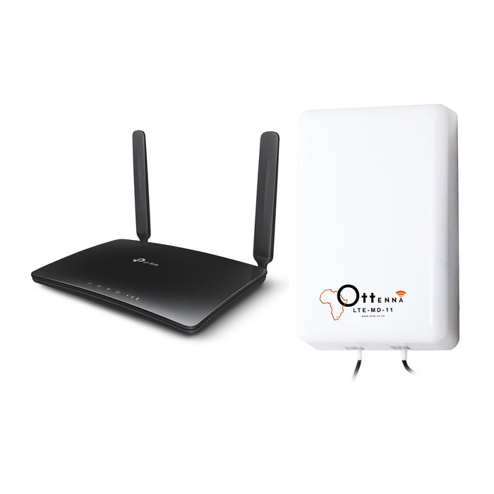 MR200_V2.1 + LTE-MD-11 • TP Link Archer MR200 router with Ottenna LTE-MD-11