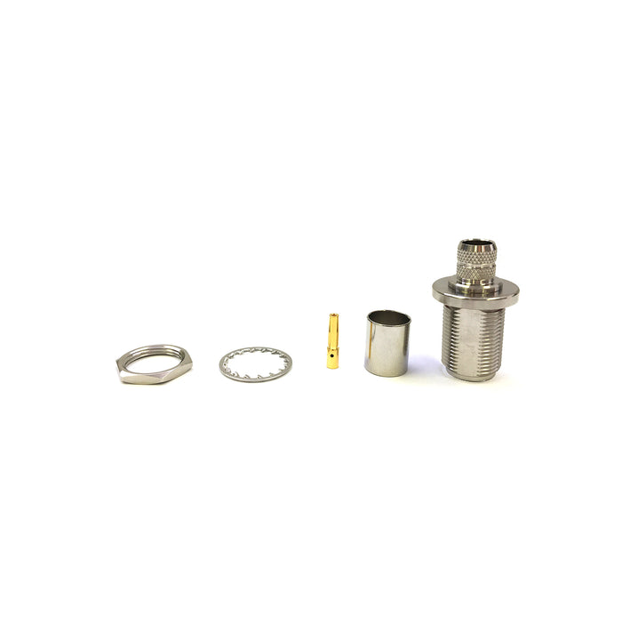 N-14-23-B-TGN • N-Type Jack Inline Crimp for LMR400