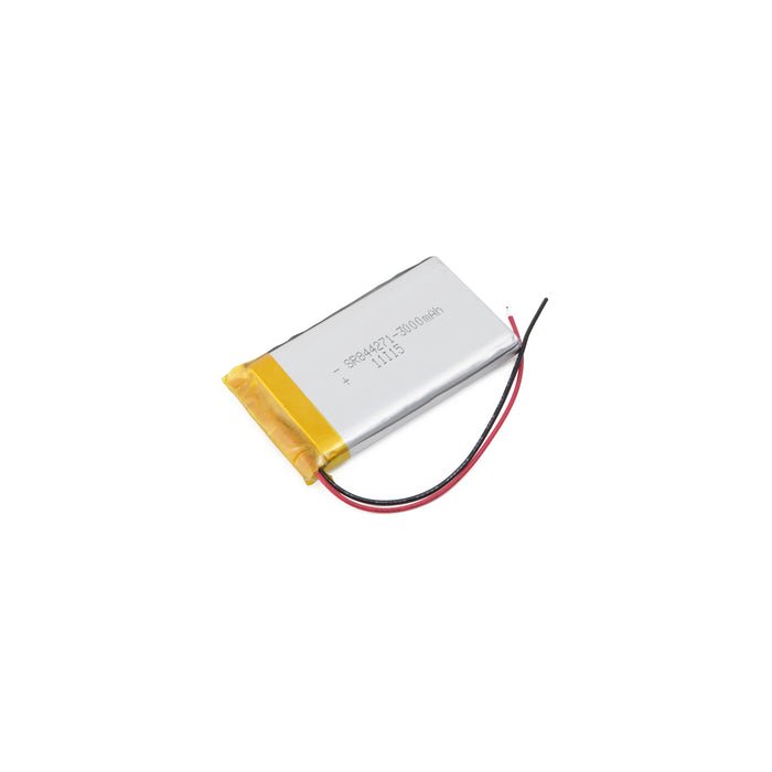GEB103450-3P • Lithium Ion Polymer rechargeable battery 1800mAh 3.7V