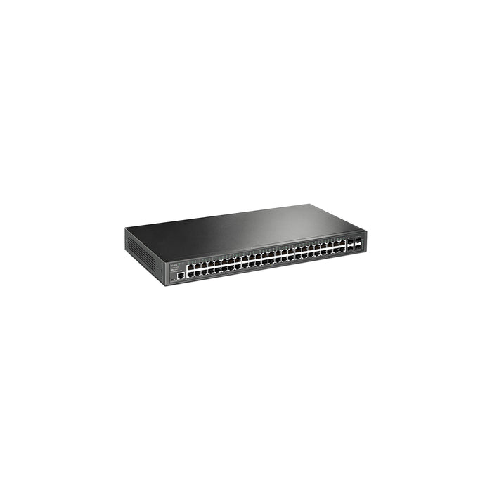 T2600G-52TS • JetStream 48-Port Gigabit L2+ Managed Switch with 4 SFP Slots