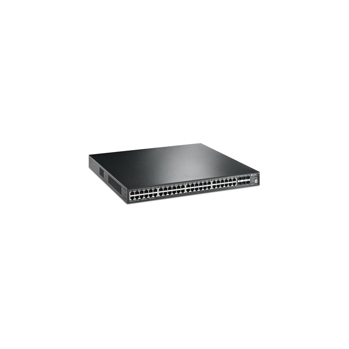 T3700G-52TQ • JetStream 52-Port Gigabit Stackable L3 Managed Switch