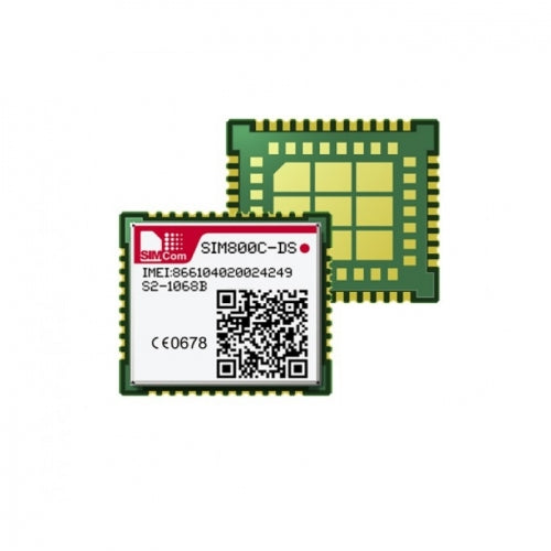 SIM800C-DS • Miniature Dual SIM Quad-Band GSM/GPRS surface mount module