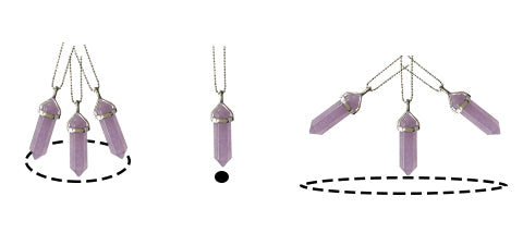 crystal pendulum swing, crystal wing diagram