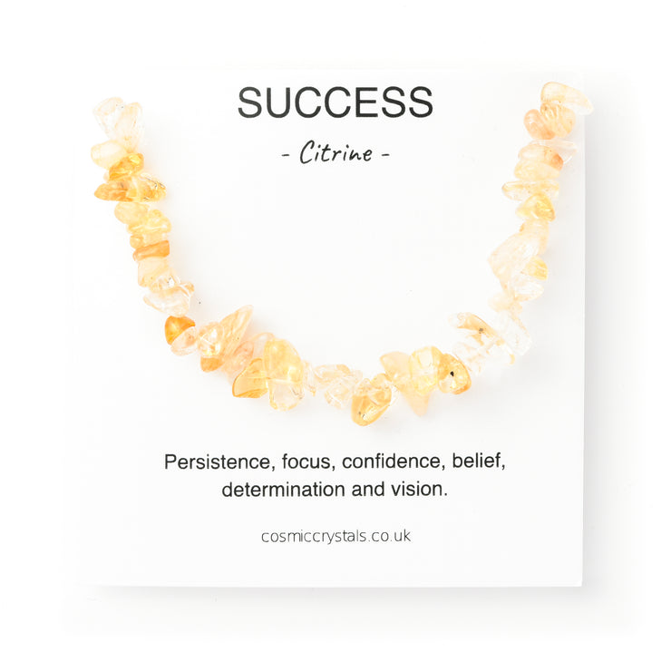 Success Bracelet, Citrine