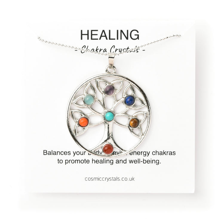 Healing Tree of Life Necklace
