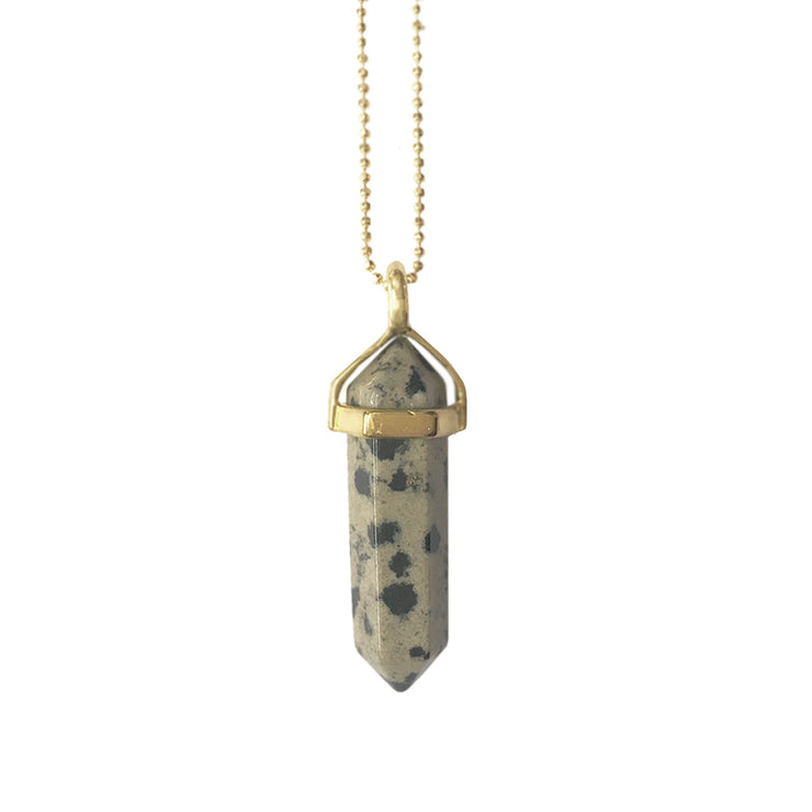 Health Necklace (gold), Original Pendants- Conscious Crystals, healing crystal jewellery, crystal pendants uk, crystal meanings