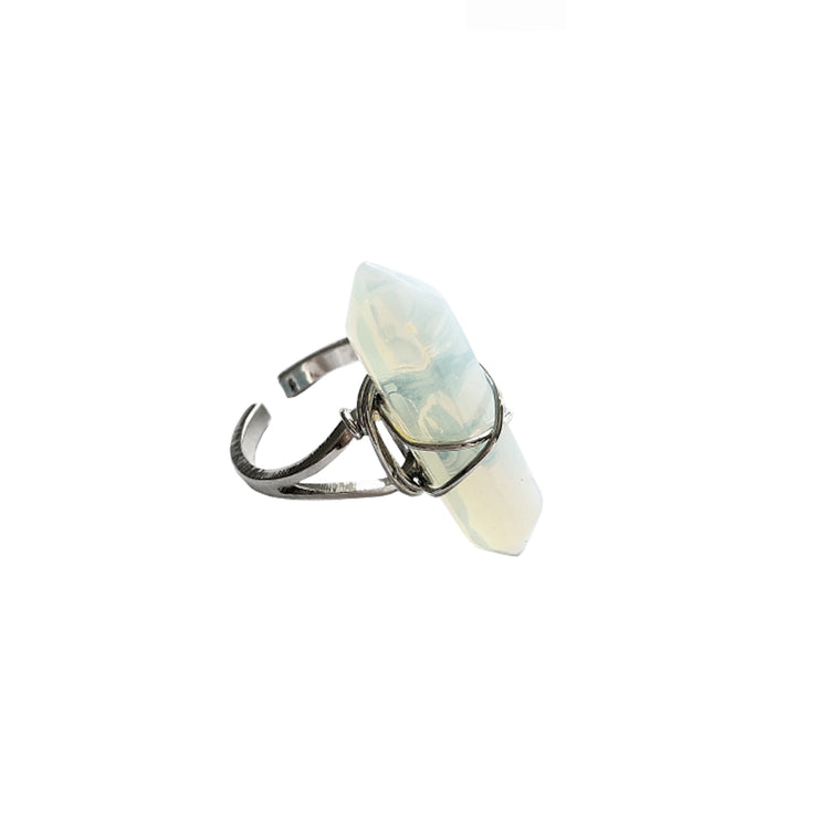 Confidence Long Ring, Ring- Conscious Crystals, healing crystal jewellery, crystal pendants uk, crystal meanings