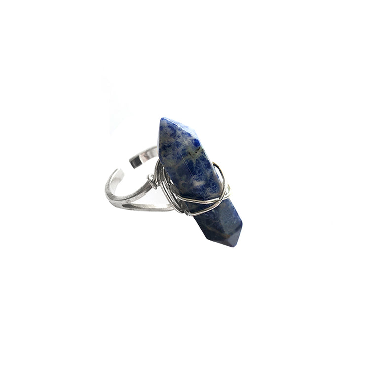 Creativity Long Ring, Ring- Conscious Crystals, healing crystal jewellery, crystal pendants uk, crystal meanings