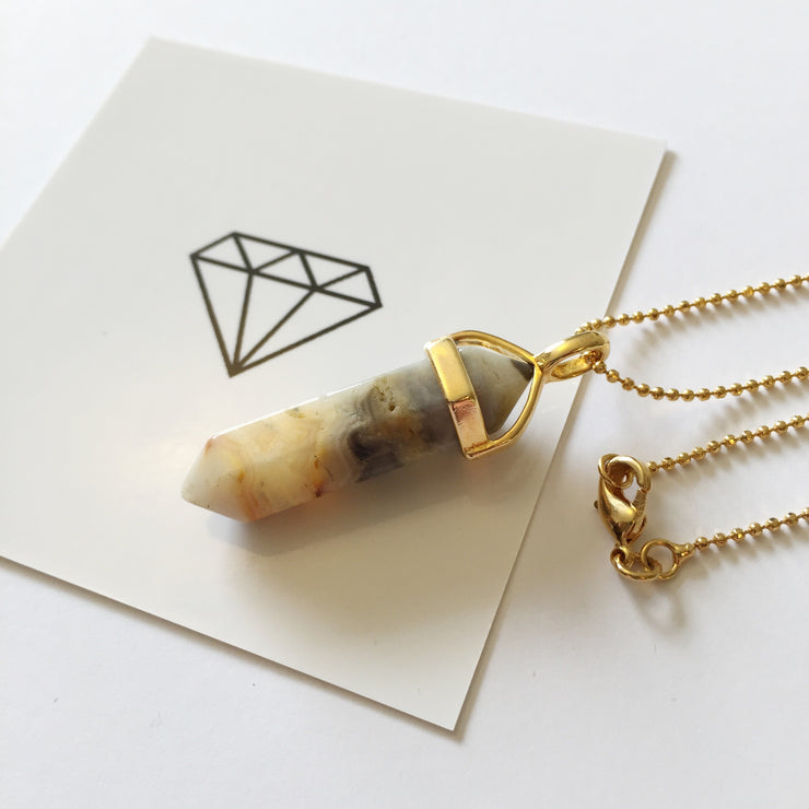 Wealth Necklace (gold), Original Pendants- Conscious Crystals, healing crystal jewellery, crystal pendants uk, crystal meanings