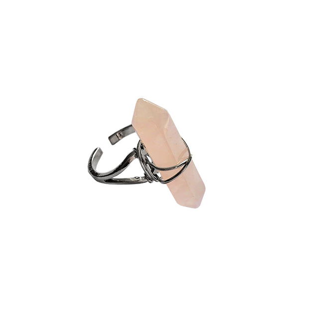 Love Long Ring, Ring- Conscious Crystals, healing crystal jewellery, crystal pendants uk, crystal meanings