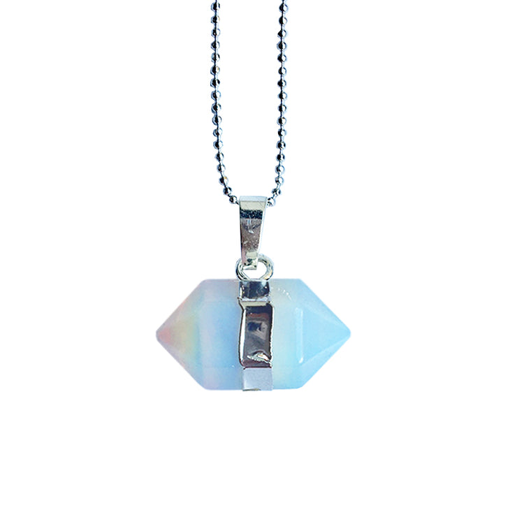 Confidence Hexagon (silver), PENDANT- Conscious Crystals, healing crystal jewellery, crystal pendants uk, crystal meanings