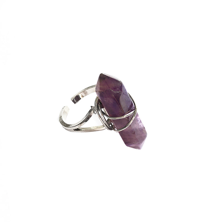 Peace Long Ring, Ring- Conscious Crystals, healing crystal jewellery, crystal pendants uk, crystal meanings