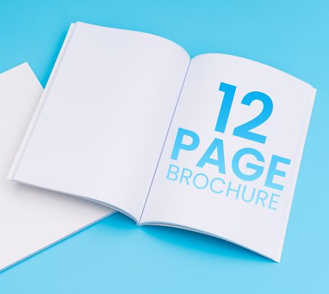 12 Pages - A4 Brochure