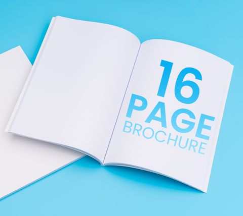 16 Pages - A4 Brochure