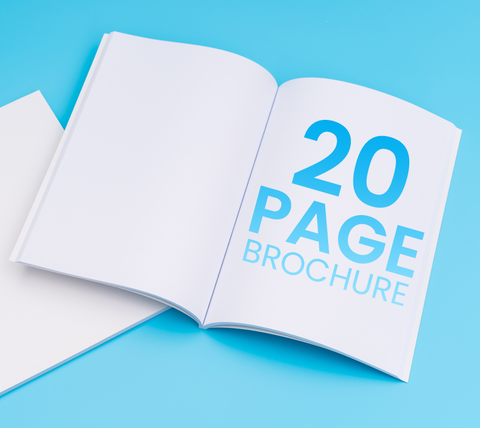 20 Pages - A4 Brochure