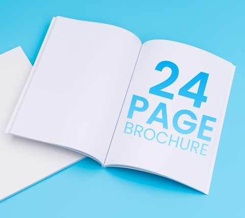 24 Pages - A4 Brochure
