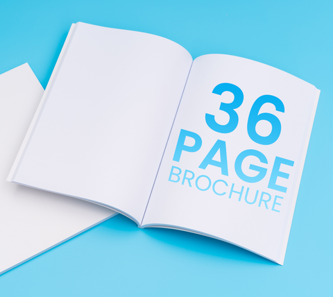 36 Pages - A4 Brochure