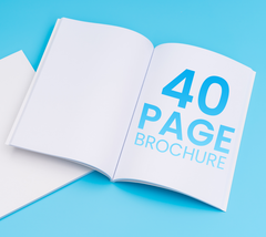 40 Pages - A5 Brochure - Printmeit.com