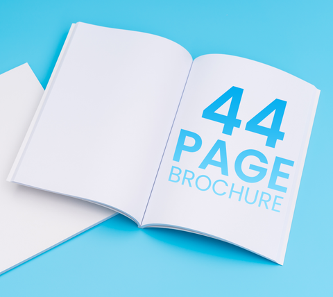 44 Pages - A4 Brochure