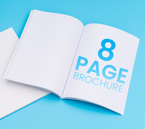 8 Pages - A5 Brochure