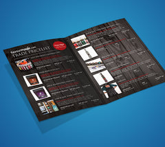 Folded Flyer Design - Printmeit.com