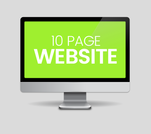 10 Page Website Design