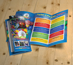 A4 Folded to DL Flyer - Printmeit.com