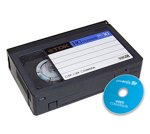 VHS C to DVD - Video Conversion
