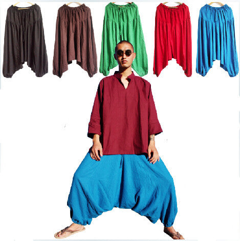 Fashion men's large crotch pants ,harem pants ,plus size M-5XL men