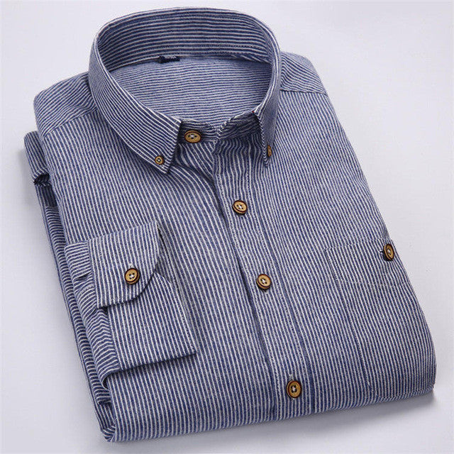 2016 Summer Men's Printed Short-sleeved Shirt Male Breathable Cotton