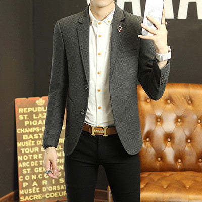 2016 New Arrival Business mens blazer Casual Blazers Men Formal jacket