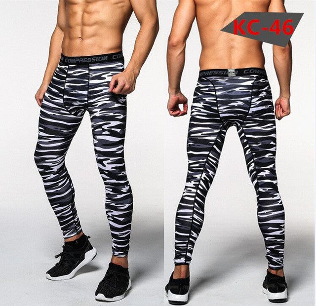 2016 new Men's Compression Tights Pants Brand Clothing Trousers Mens
