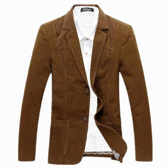 2017 Brand Suit Jacket Men Spring Autumn Coat Korean Male Fashion Slim