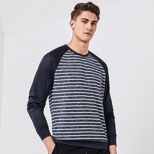 Pioneer Camp New arrival hoodies men brand clothing fashion striped