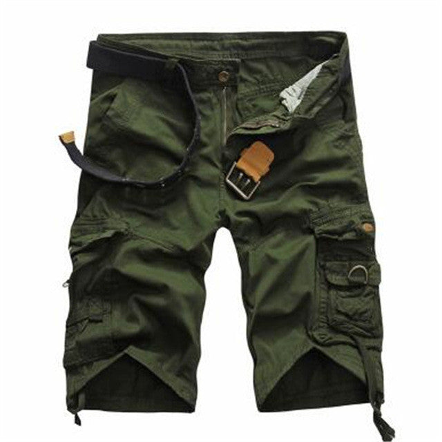 2017 Cargo Shorts Men Hot Sale Casual Camouflage Summer Brand Clothing